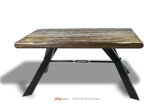 Nowoczesny stół z litego drewna,